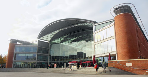 (Picture of the Forum, Norwich)